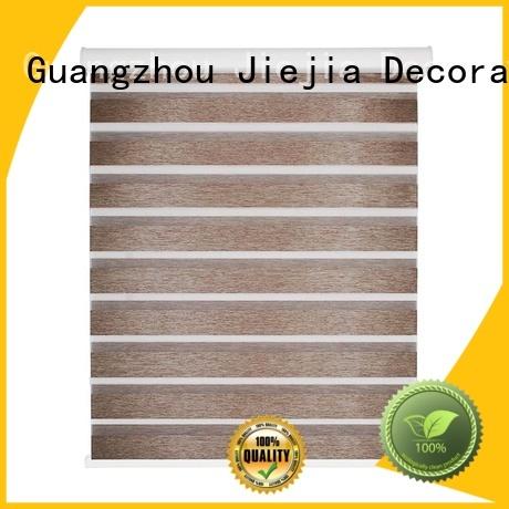 Jiejia New zebra print roller blind flameproof house