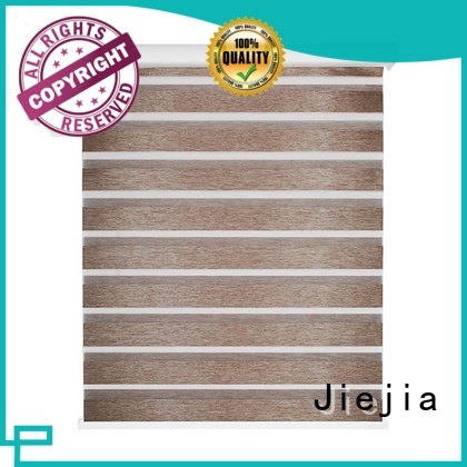 Jiejia white zebra blinds factory restaurant