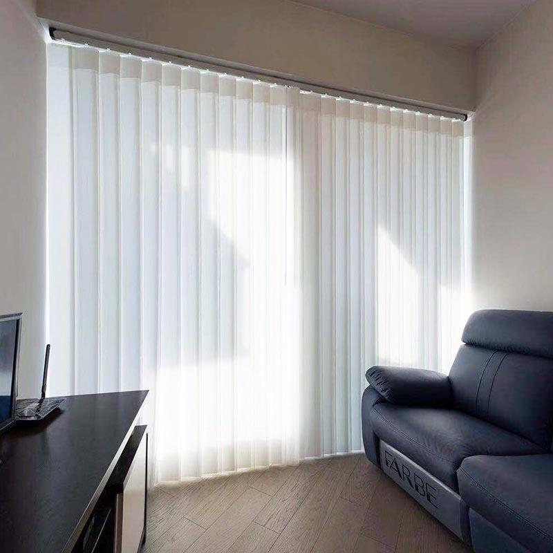 Jiejia vertical blinds for bay windows-2