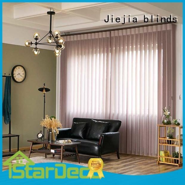 Jiejia vertical window shades factory