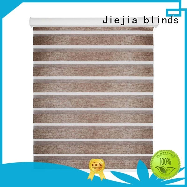 double-layer zebra day and night blinds flameproof restaurant Jiejia