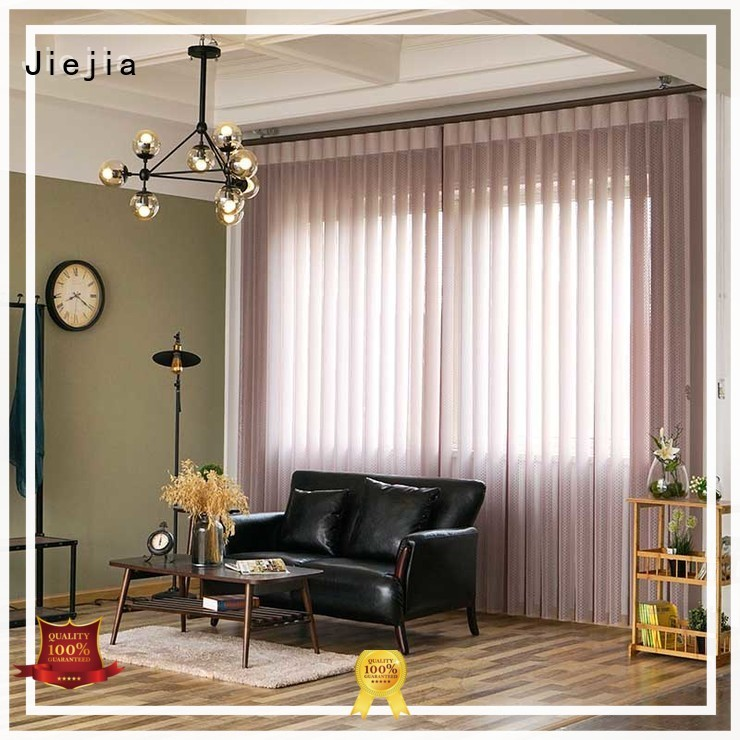 Jiejia blackout vertical blind