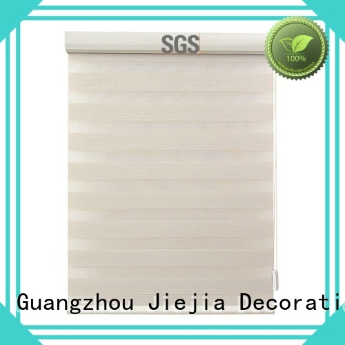 Jiejia wholesale zebra window blinds waterproof office